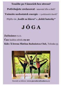 Lekce Jogy, XArena Brno-Slatina