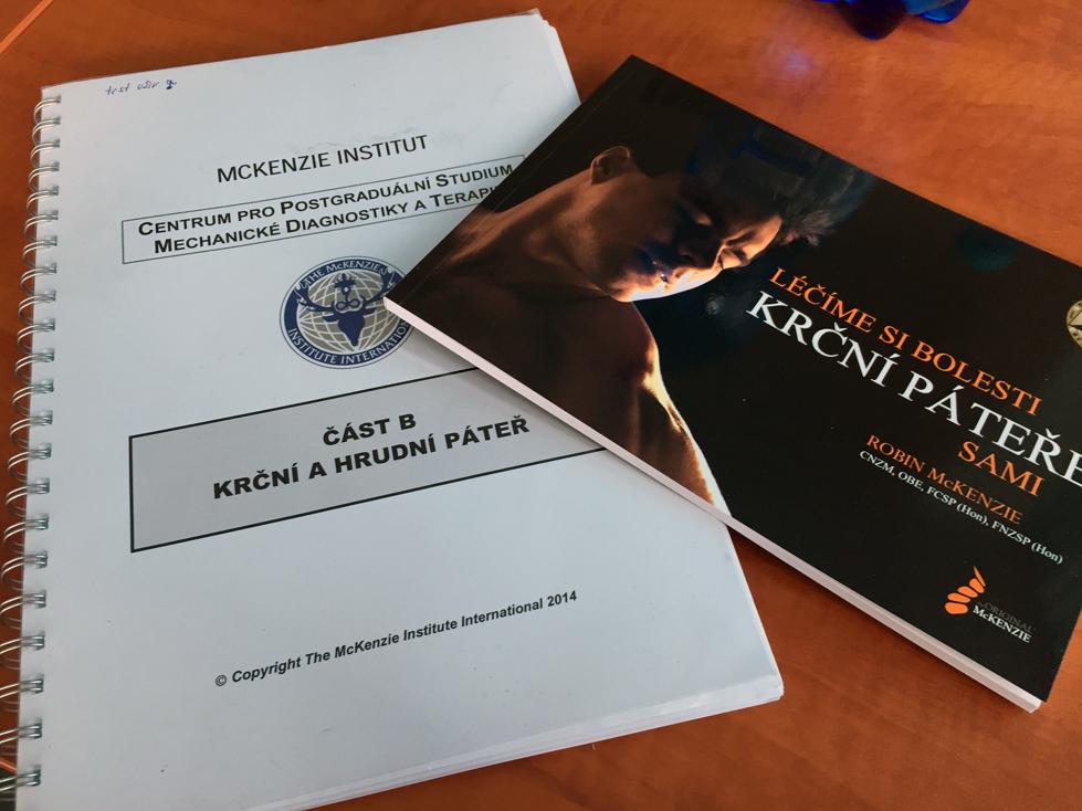 McKenzie metoda - knihy